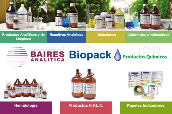 Reactivos y estándares Biopack
