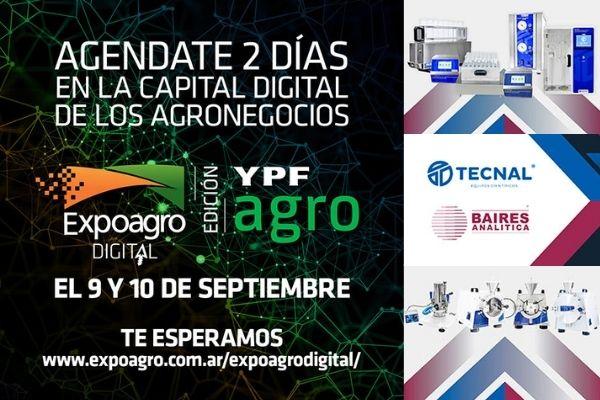 Baires Analítica en la ExpoAgro DIGITAL 2020