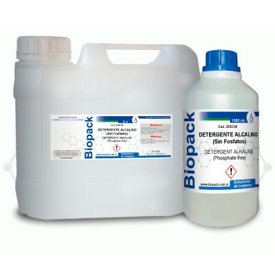 Detergente Alcalino (sin Fosfatos) X 5000 Ml