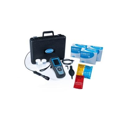 Medidor Portátil De Ph/orp/mv Hq1110 Con Electrodo De Ph De Gel, Cable De 1 M